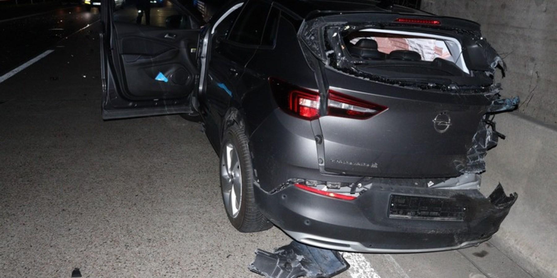 Vier Schwerverletzte nach Unfall auf der Autobahn