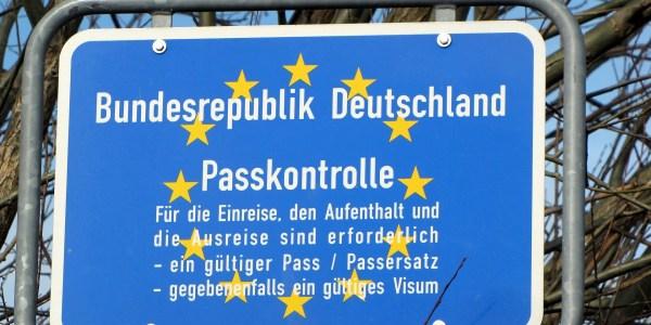 Deutschland schließt mehrere Grenzen