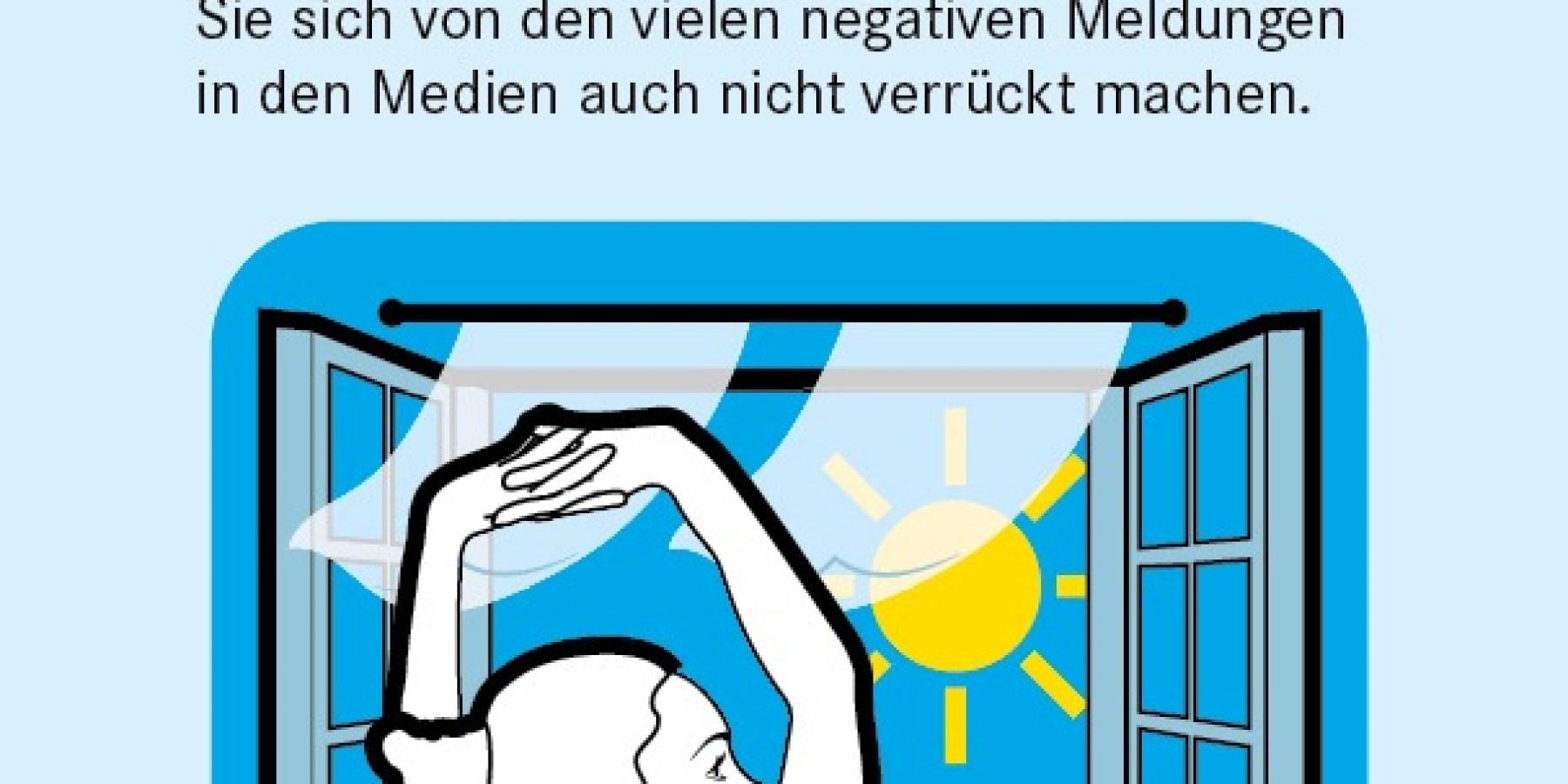 """Apotheken Umschau: Neuer Infoflyer """"Positiv denken auch in Krisenzeiten"""""""