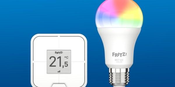 Ab sofort verfügbar: LED-Lampe FRITZ!DECT 500 und Vierfach-Taster FRITZ!DECT 440