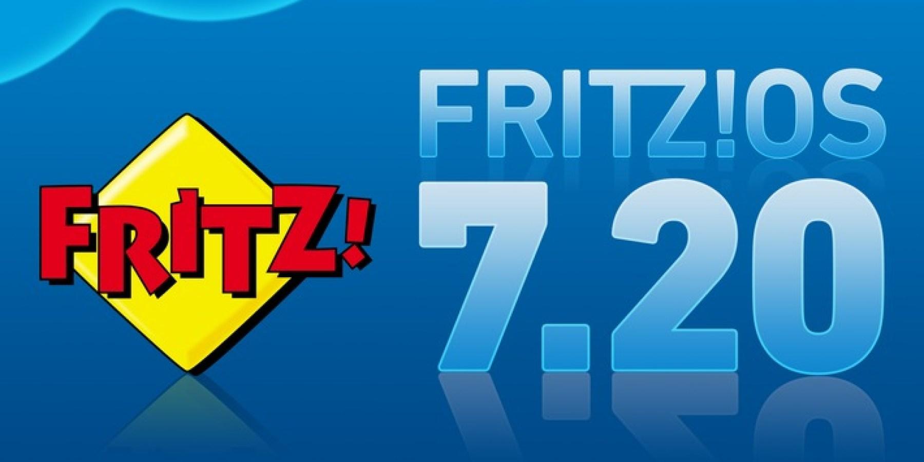 FRITZ!OS 7.20 mit noch mehr Performance, Komfort und Sicherheit – über 100 Neuerungen