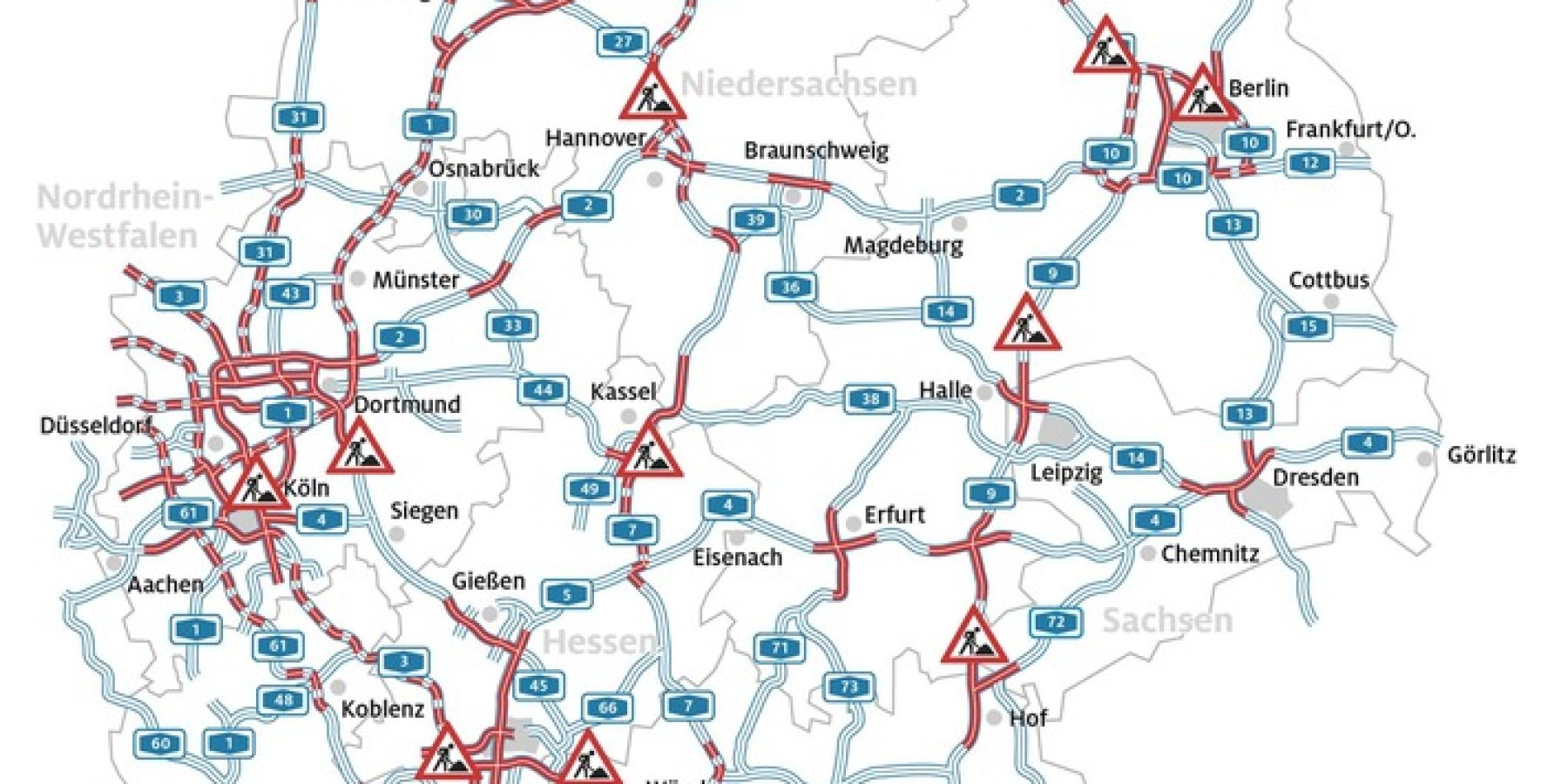 Geschlossene Schulen in ganz Deutschland – Hochphase der Sommerreisezeit so ruhig wie nie