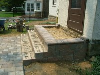 We Show The Way We Construct Steps Using Wall Stones With ...