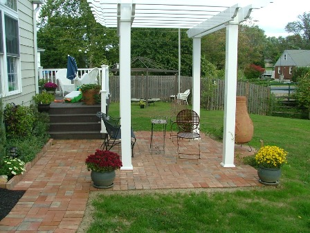 Brick Patio Examples And Descriptions Newtown Square PA