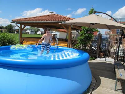 Projekt Quick up Pool Teil 2 – der Wiederaufbau