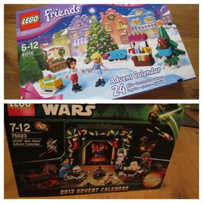LEGO Adventskalender Friends und Star Wars