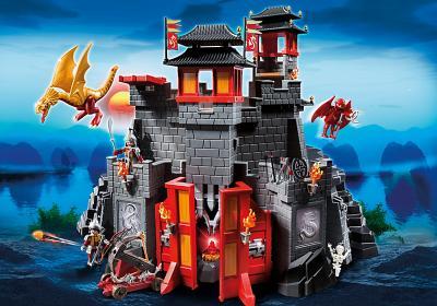 Spielzeug des Monats: Große Asia Drachenburg von Playmobil