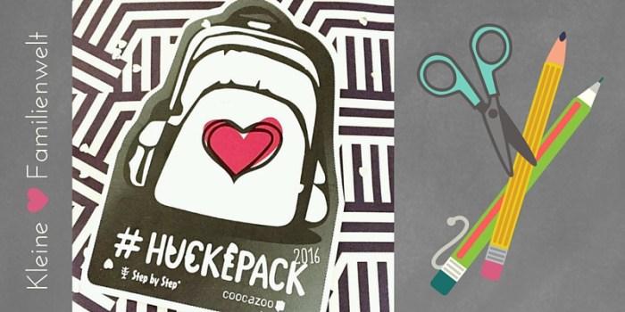 #Huckepack2016 – das Bloggerevent von Coocazoo und Step by Step