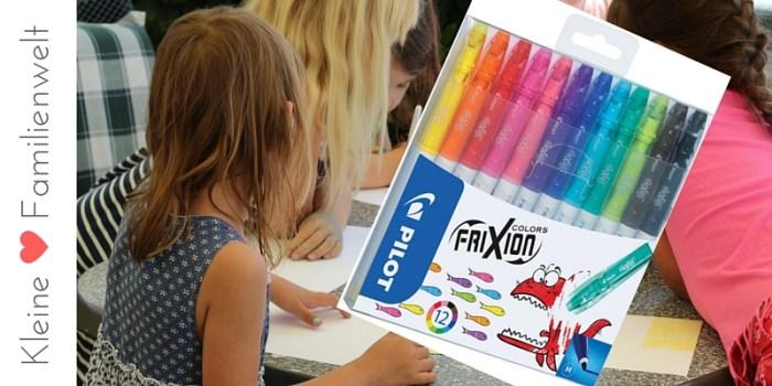 Geniale Filzstifte für Kinder. Malspaß mit Frixion Colors