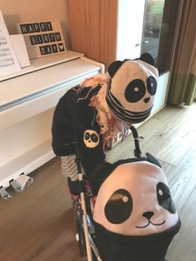 Panda Outfit von Green Cotton