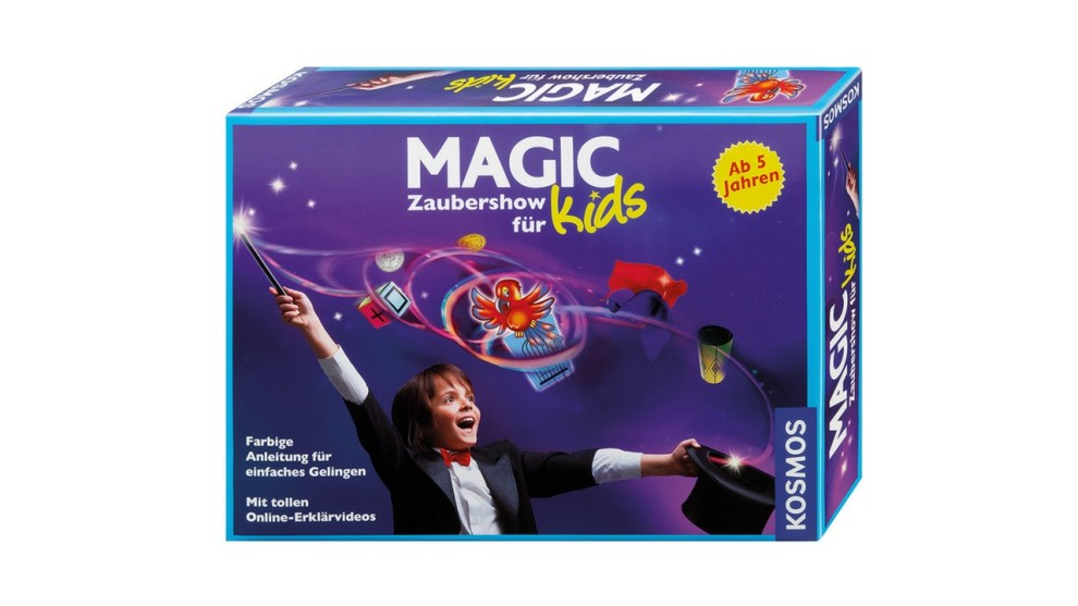 Magic Kids Zaubershow. Zaubertricks für Kinder.
