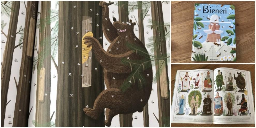 Ausschnitt aus dem Buch Bienen von Piotr Socha