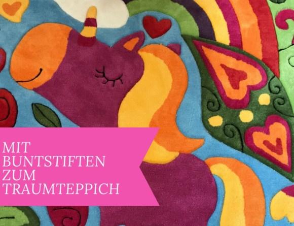 Einhorn Teppich