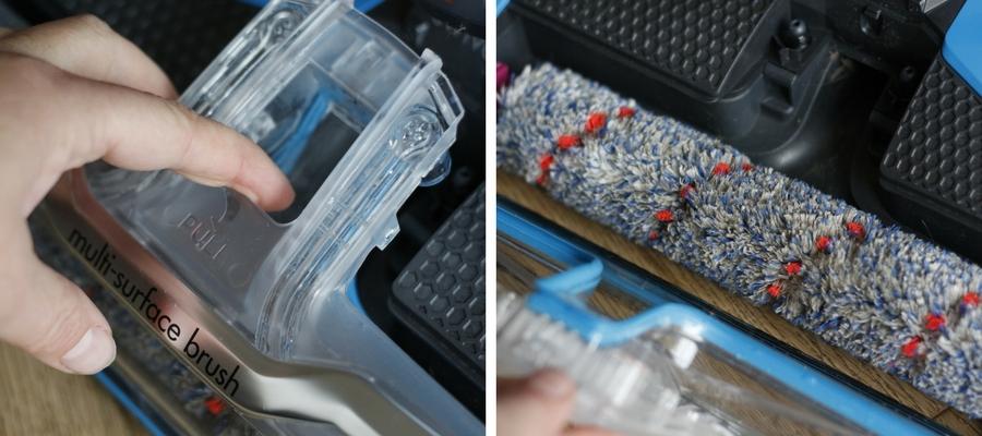 Microfaserwalze Nass Trockensauger CrossWave