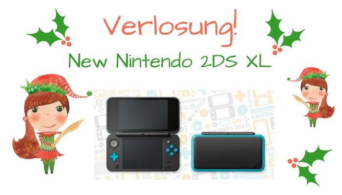 Ein NEW Nintendo 2DS XL ist vom Weihnachtsschlitten gefallen…