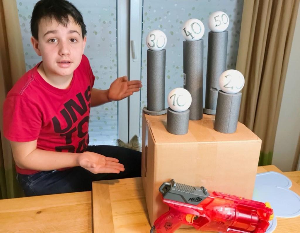 NERF Spielspaß selbst bauen