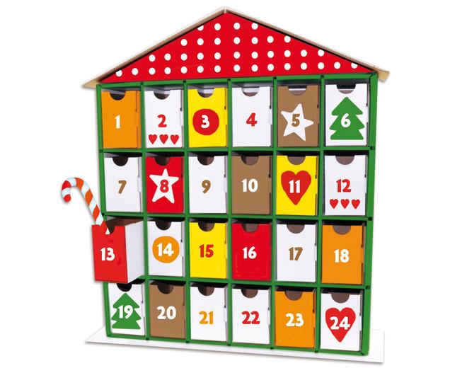 Ein Adventskalender Haus Fur Zwei Kinder Kleine Familienwelt