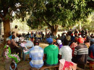 Vergadering eilandbewoners