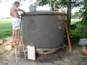 Joxhorst, Eerhard bouwt Calabash tank 196