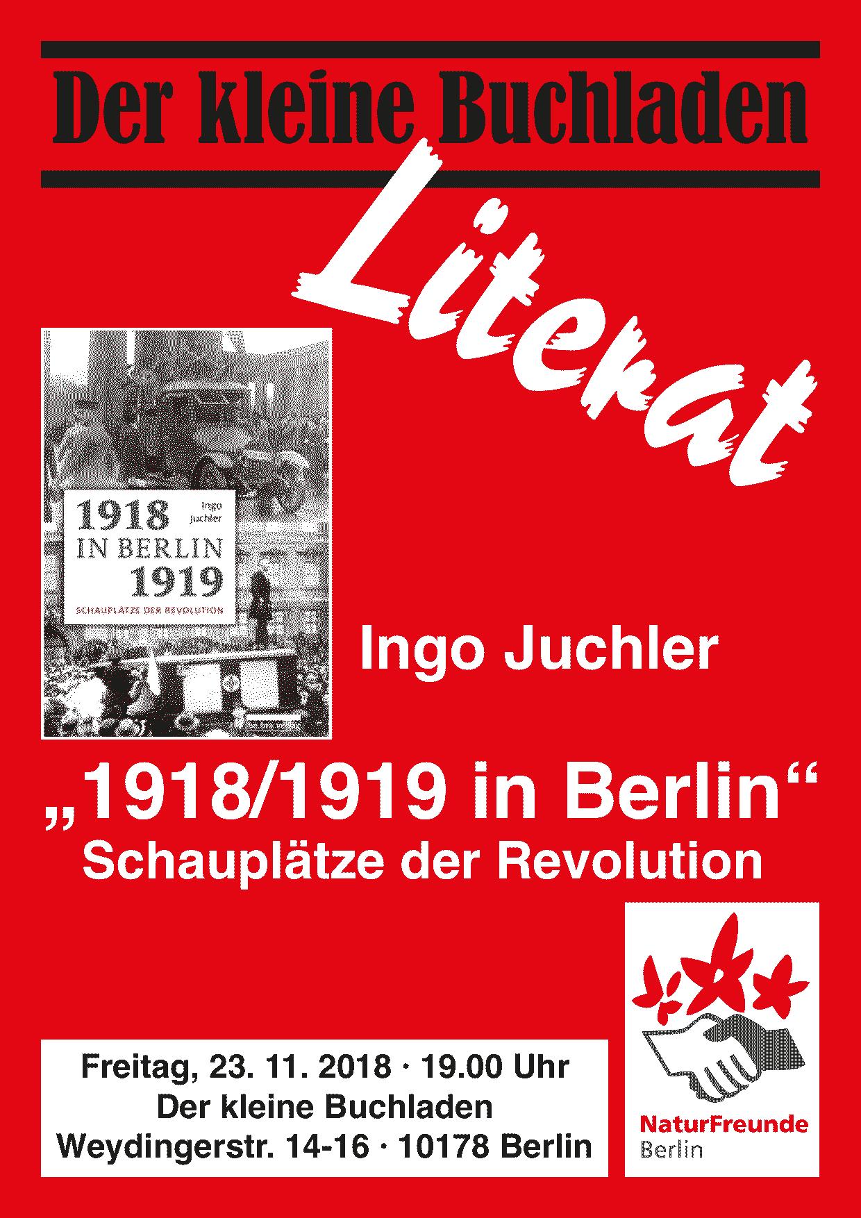 LITERAT: Ingo Juchler »1918/19 in Berlin«