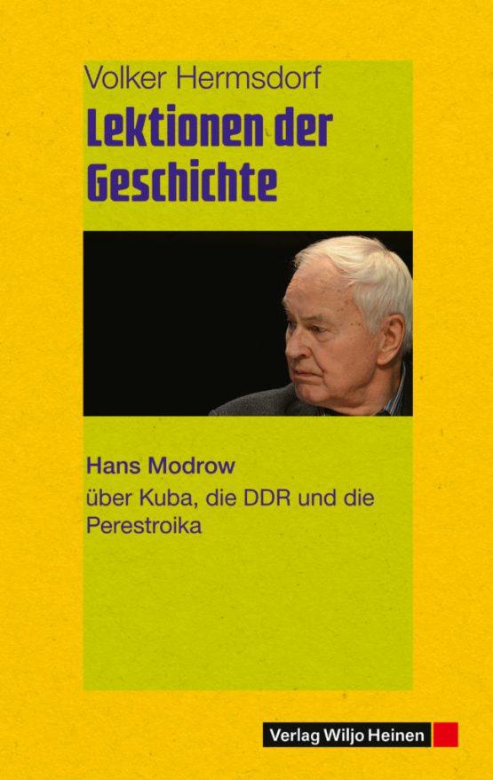 Cover »Lektionen der Geschichte«