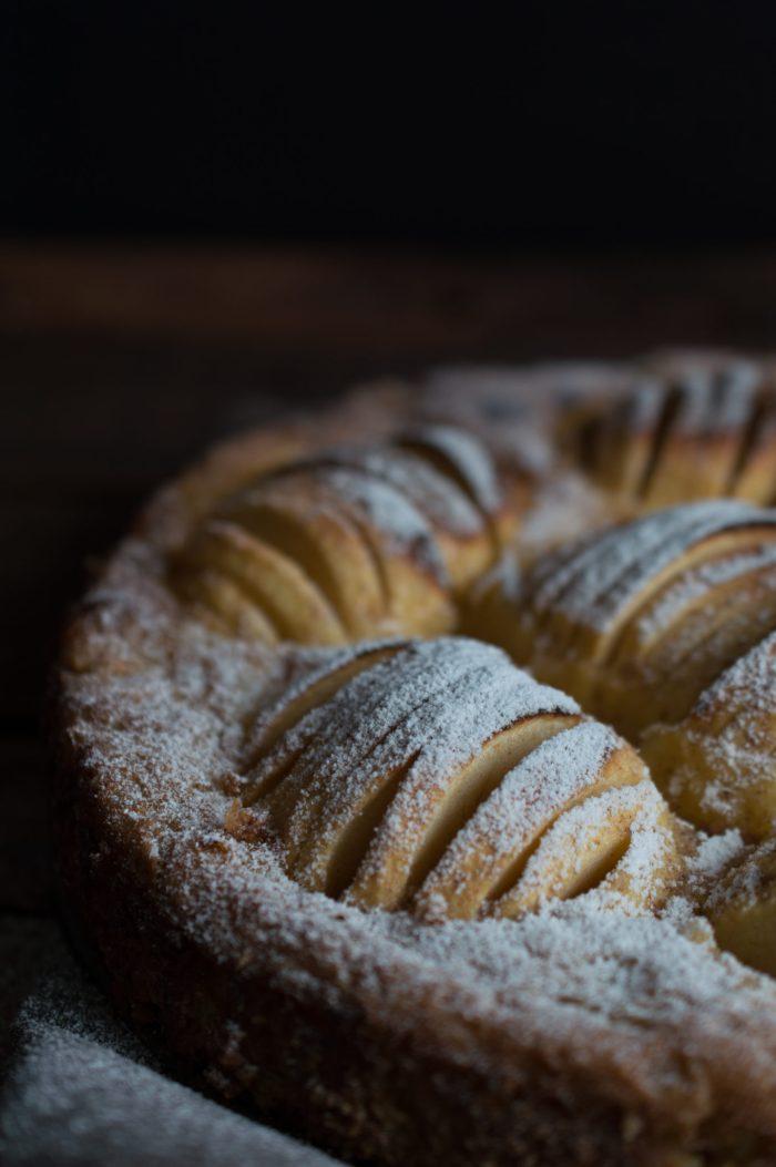 Äppeltaart – Apfelkuchen