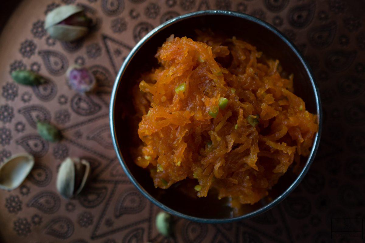 Moraba Havij - persische Karotten Marmelade