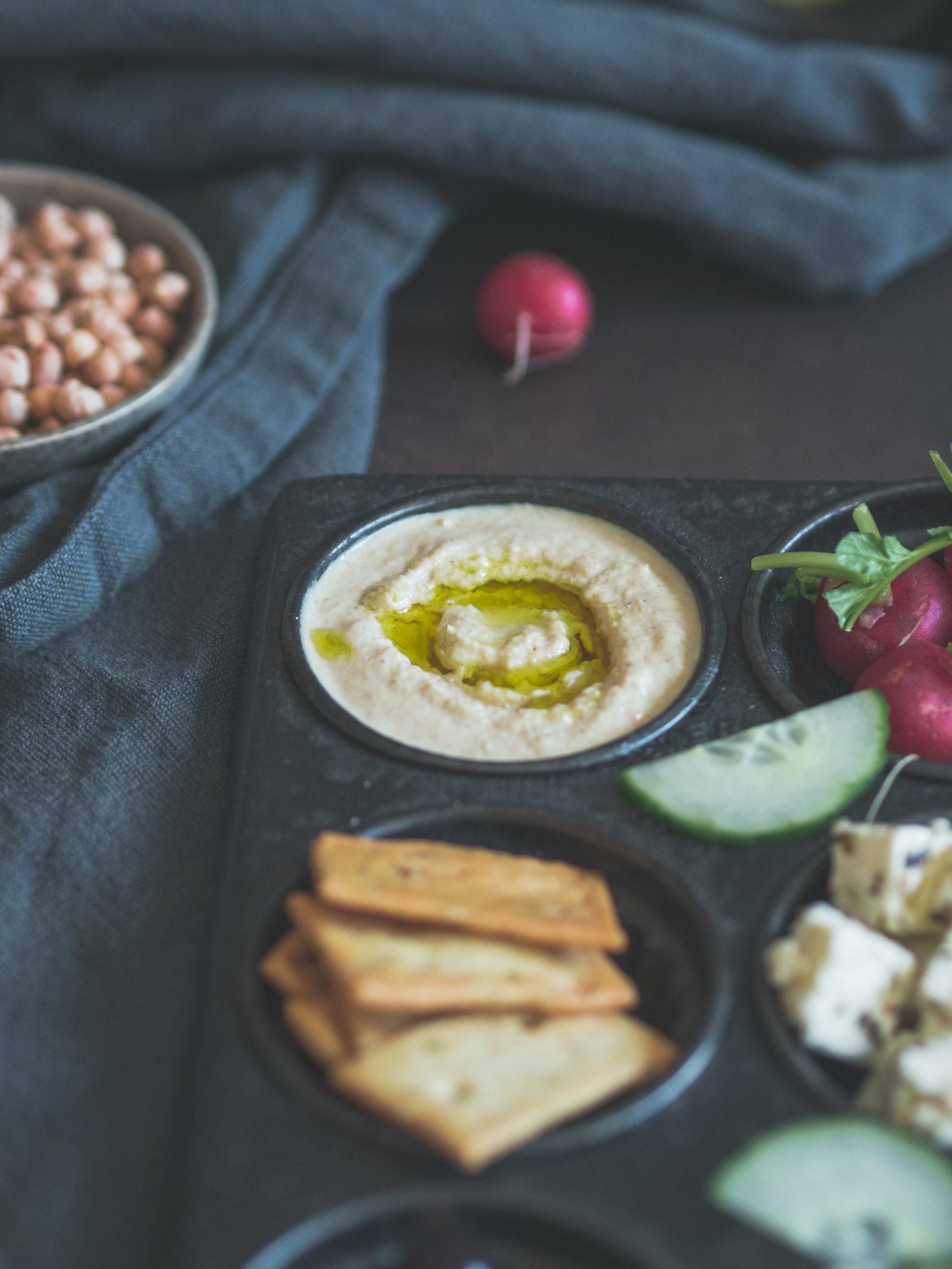 Hummus Platte - Kleines Kuliversum