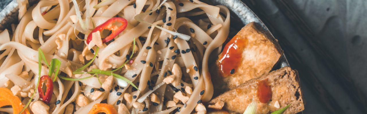 Bun Chay vietnamesischer Nudelsalat