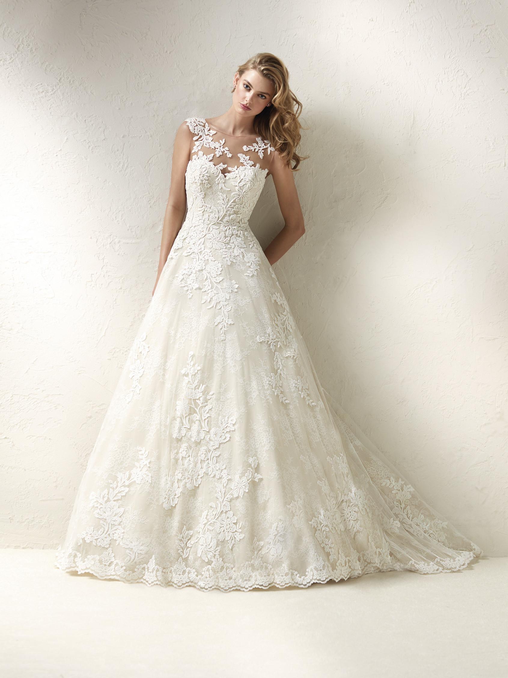 Romantic Ball Gown Wedding Dress  Kleinfeld Bridal