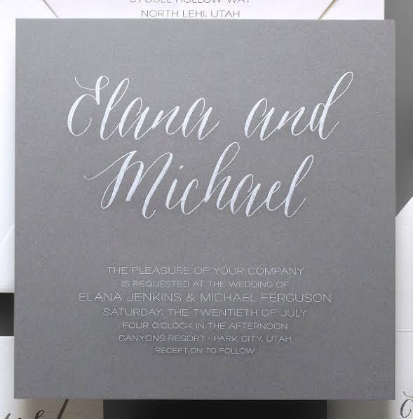 Themselves Hosting Wedding Invitation Wording