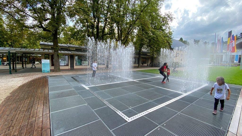 Überblick Wasserspiele Baden-Baden