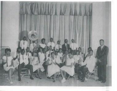 Kohrville Band with teacher Mr. Whitney
