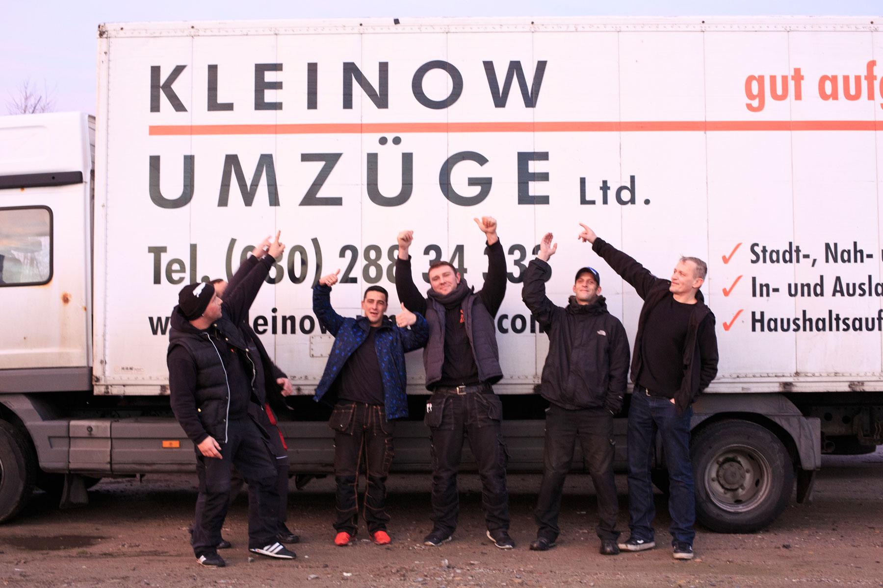 Umzugsfirma Berlin Kleinow Umzüge – Ihre Umzugsprofis
