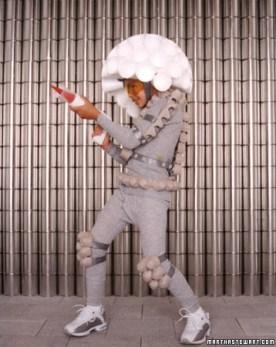 DIY Space invader Costume