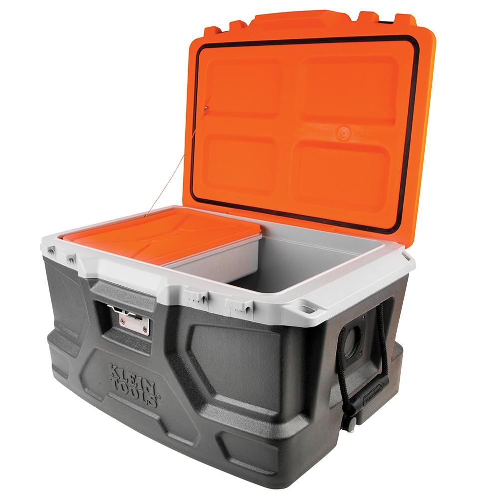 Tradesman Pro Tough Box Cooler 48Quart  55650  Klein Tools  For Professionals since 1857