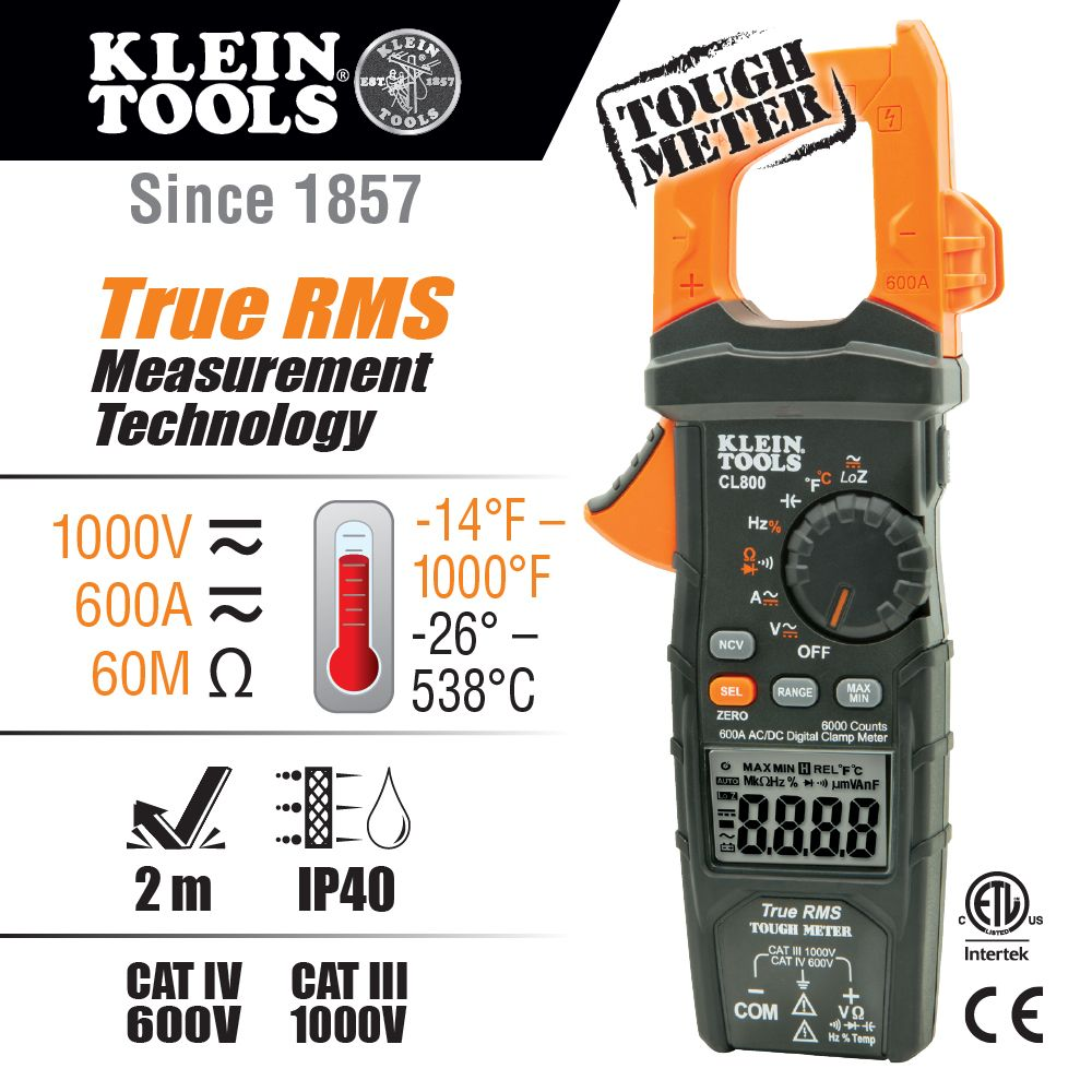 hight resolution of digital clamp meter ac dc auto ranging