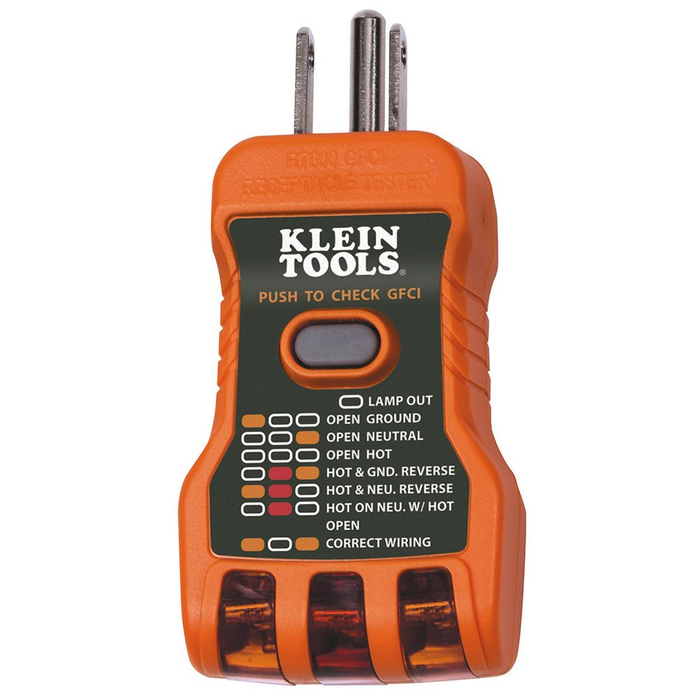 hight resolution of gfci receptacle tester usa made