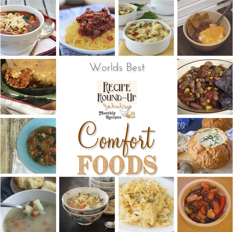 Worlds Best Comfort Foods - Recipe Round-Up kleinworthco.com
