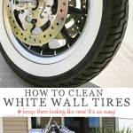 How To Clean White Wall Tires Kleinworth Co
