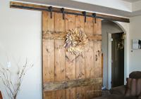 Wide Rustic Barn Door - Kleinworth & Co
