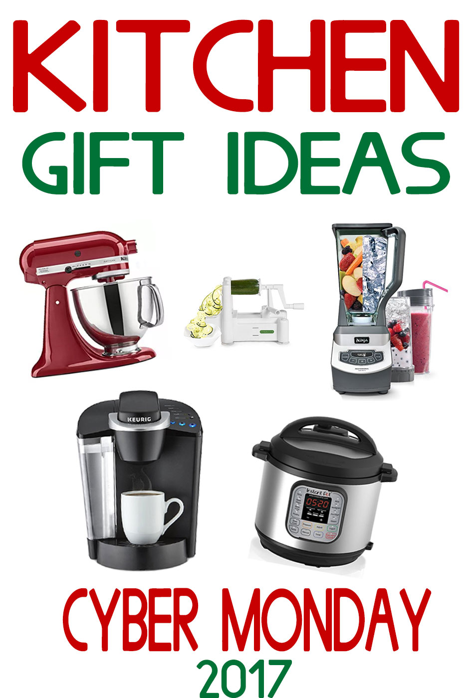 Kitchen Gift Ideas  Cyber Monday 2017  Kleinworth  Co