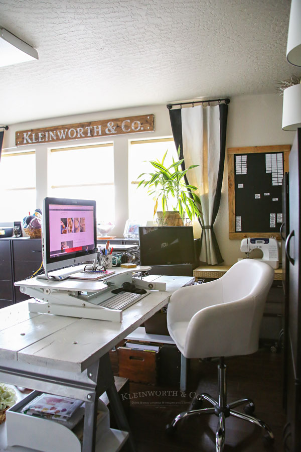 ideas for craft room chairs exercise ball as desk chair office tour 2018 kleinworth co work space