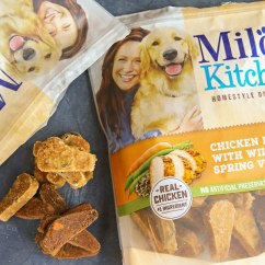 Milos Kitchen Modern Table And Chairs Milo S Homestyle Dog Treats Kleinworth Co I Chose Because They Are Made Totally Free Of Artificial Flavors Or Colors It Is Really Hard To Find With