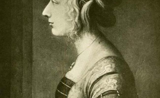 Maddalena De Medici Daughter Of Lorenzo Il Magnifico