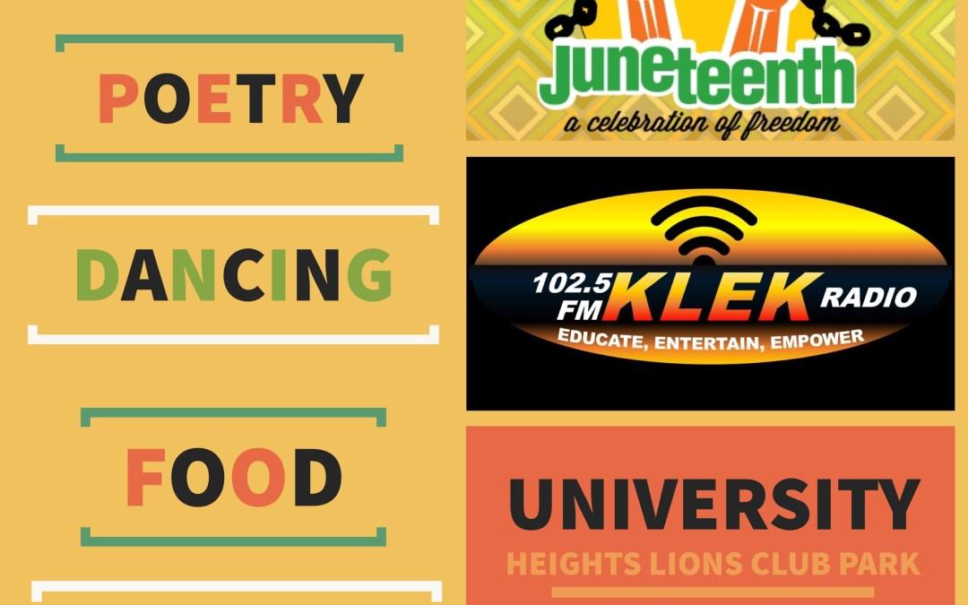 KLEK 102.5 FM to host 1st Annual Juneteenth Celebration