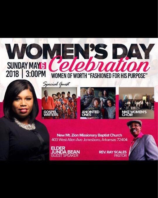 New Mt. Zion MBC Women's Day Celebration