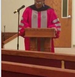 Dr. Cherisse Jones-Branch Delivers Message at Baccalaureate Service