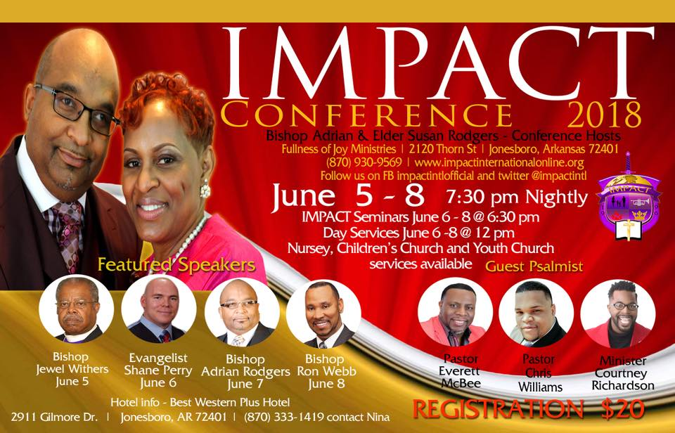 0d246474f65a6 Impact Conference 2018 at Fullness of Joy Ministries