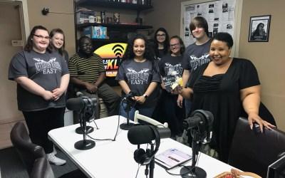 Nettleton High School East Lab Students visit KLEK
